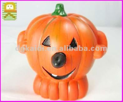 2012 newest design plastic pumpkin halloween gift for kids