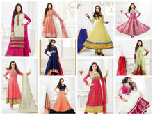 Madhubala Anarkali Dress Material