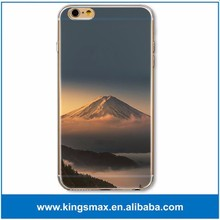 ODM Japan Fujiyama Cellphone Case for iPhone 6 Plus Soft Mobile Case Water Transfer Phone Case for Sony
