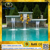 Outdoor & Indoor Artificial Dancing LED Wall Waterfall Fountains Decorative Swimming Pool