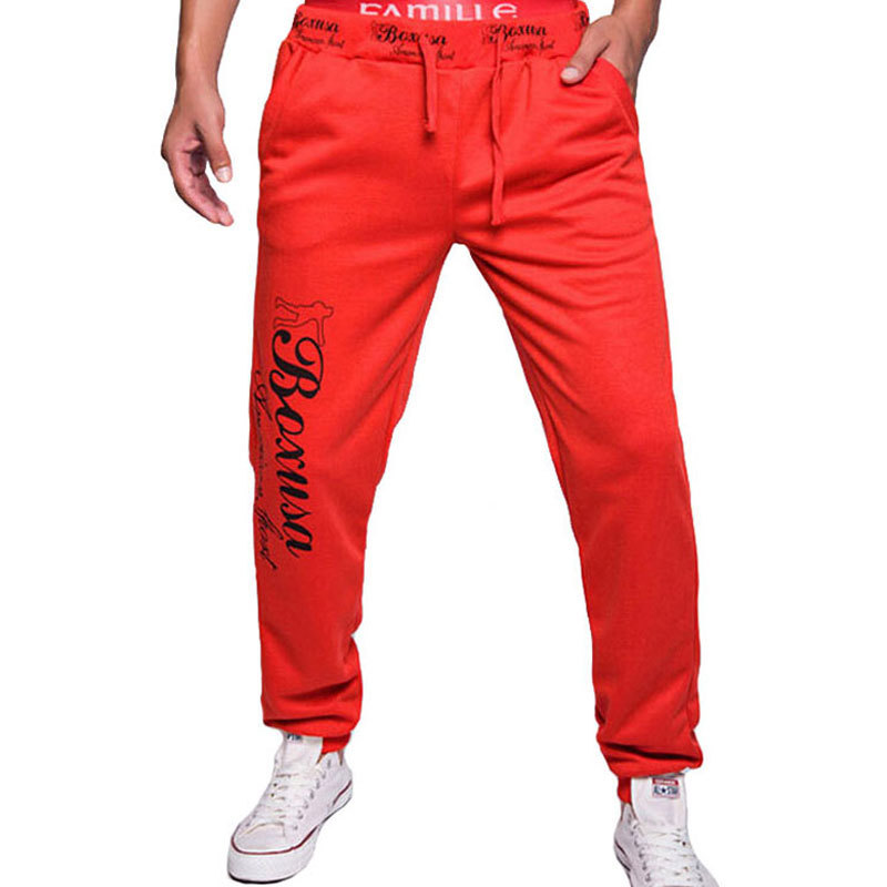MOON BUNNY Hot sale 2016 fashion Style Mens Gym Joggers Sweatpants Sport Harem Pants Men Loose Jogging Trousers wholesale MOQ 1s