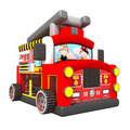70915078 Funny high quality commercial inflatable fire truck theme bouncer