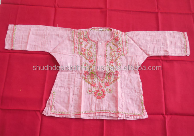 Traditional kids Clothes Kurta Tunic Top Dress