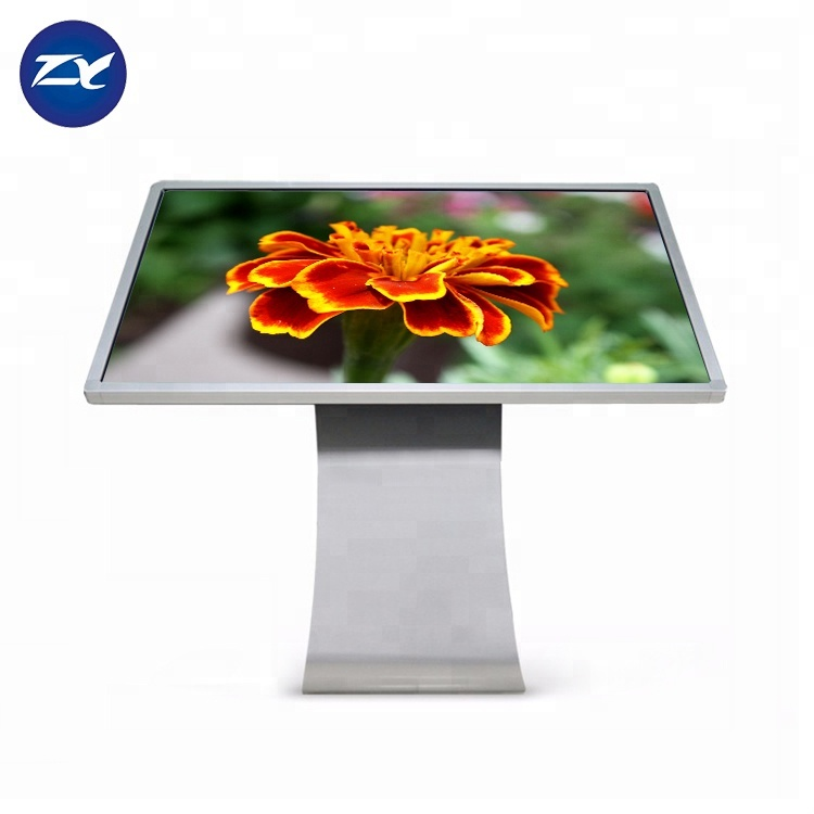 Shopping Mall 42 Inch All In One Pc Totem Interactive Touch Screen Kiosk