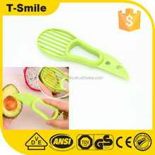 As Seen On TV 3-In-1 Plastic Veggie Fruit Avocado Cutter