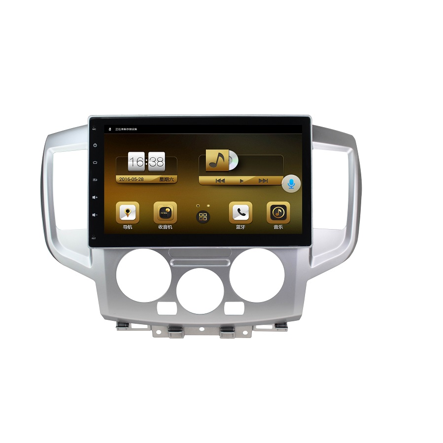 UPsztec Double Din 10.1 Inch Android 6.0 Car DVD Player for Nissan nv200 Top Selling Car Parts Car DVD GPS