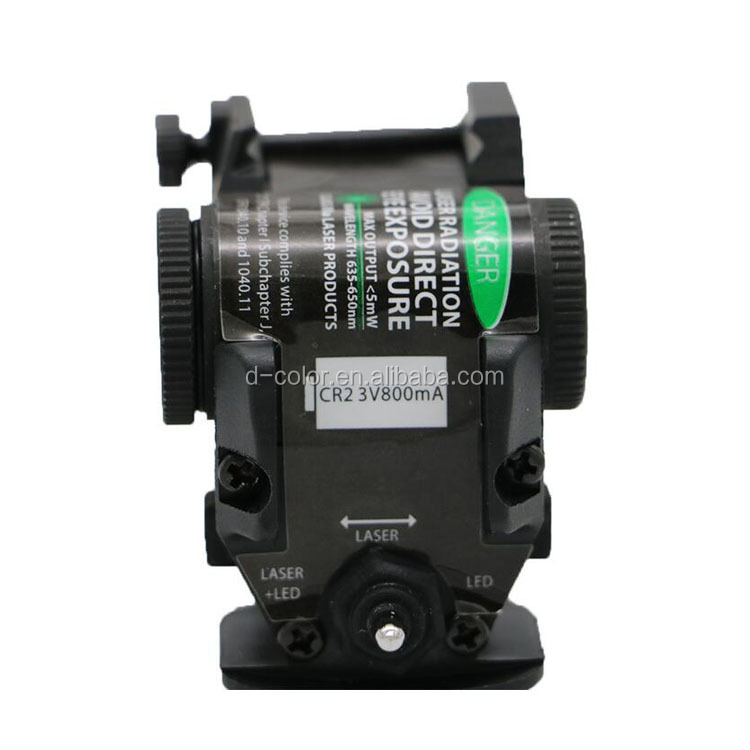 2 in 1 Green laser sight with flashlight for Picatinny Rail