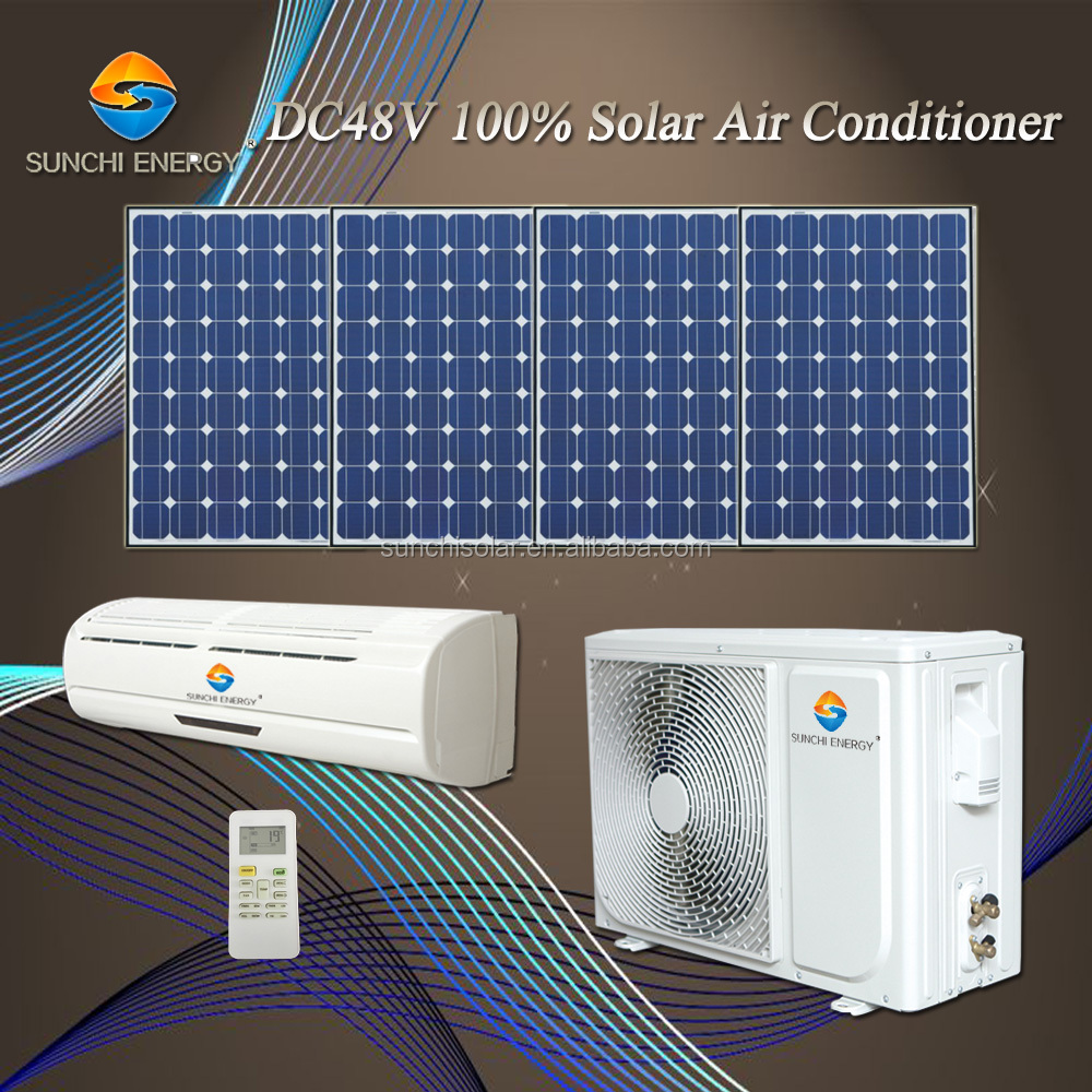 DC 48V 100% 12000BTU 18000BTU wall split portable solar air conditioner compressor