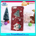 Christmas Carnival Gift Flash Power Diamond Mobile Phone Back Case for iPhone 7 7 Plus