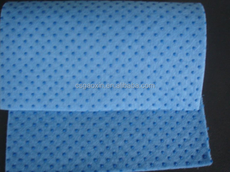 Spot Plastic Non-slip Nonwoven Cloth Fabric Mat Anti-skide Felt For Insoles or Carpet Underlay