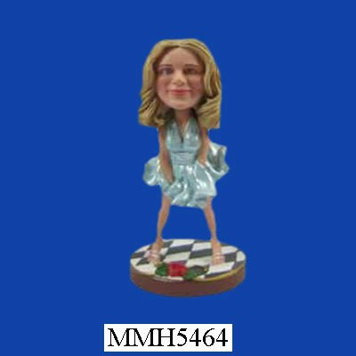 Marilyn Monroe funny resin 3d bobble head