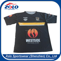Cheap Custom made sublimation printing cricket jersey