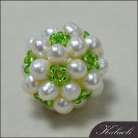 Wholesale freshwater cotton ball pearl beads for decorating