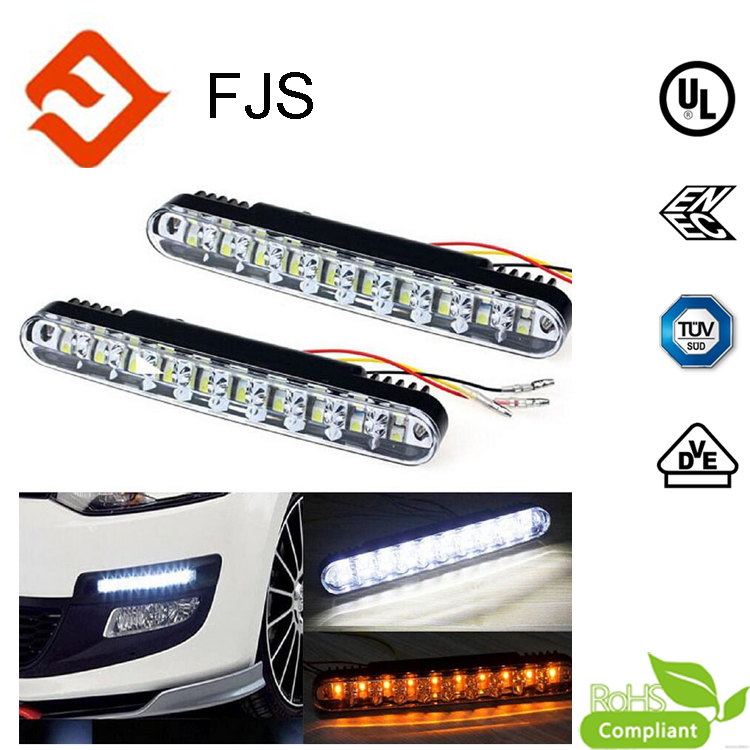 2x 30 LED Car daytime running light with Turn Lights