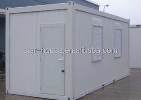 High quaity galvized flat folding container house