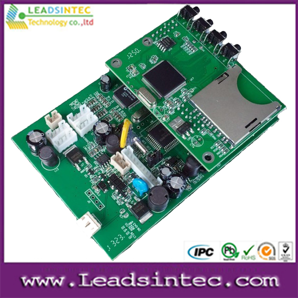 Car DVD circuit board VCD player pcb pcba oem electronic turnkey projects service
