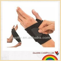 Neoprene black sport wrist guard