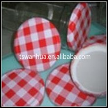 China manufacturer wholesale twist---off metal cap tin lids