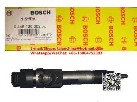 GENUINE Common rail fuel injector 0445120002 for IVECO 500313105, 500384284, P/EUGEOT 198081, 198083, RENAULT 5001849912