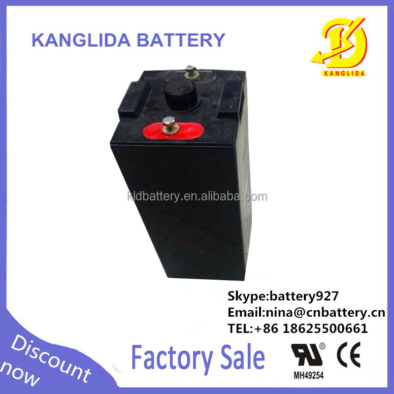 2v 200ah rechargeable storage solar battery