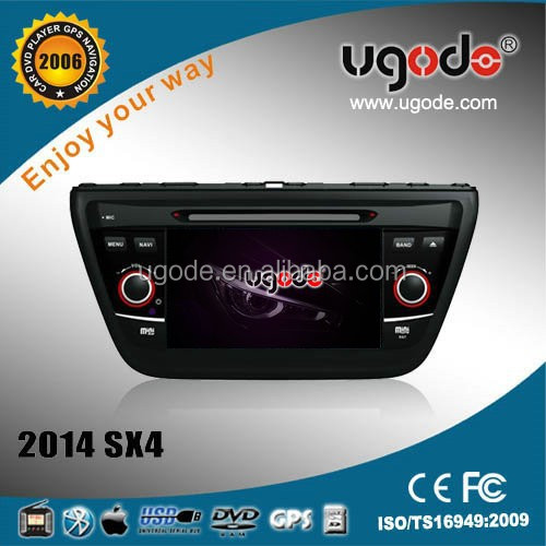 new car audio aftermarket for Suzuki SX4 2014