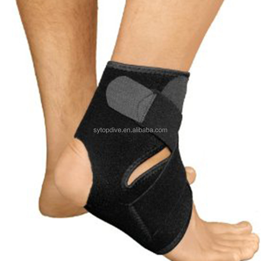 2018 factory Support Injury prevention neoprene ankle compression sleeve