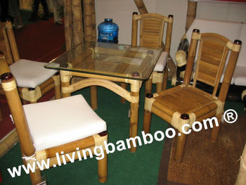 DIZON BAMBOO DINING SET