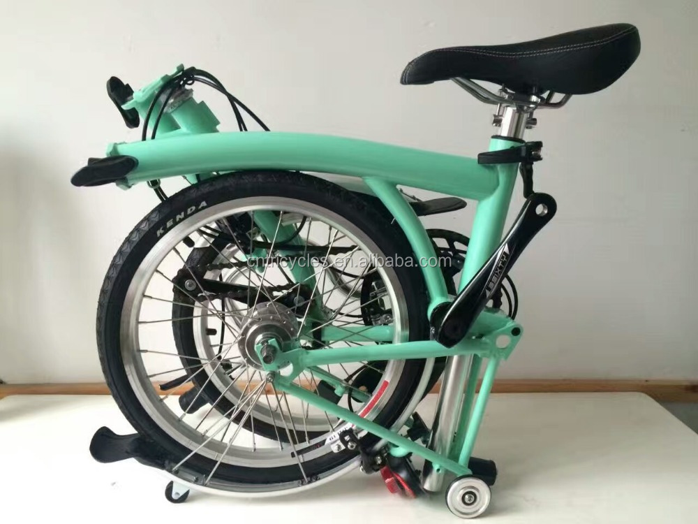BROMPTON M2L Black folding <strong>Bicycle</strong> 16 inch foldable mini bike