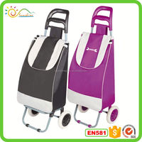 Hand luggage carts custom travel bags for men