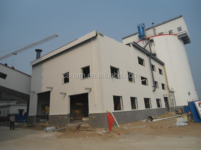 EPS sandwich panel wall light steel frame warehouse
