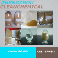 Pig Feed Choline Chloride Payment in long-term corn cob 60% powder