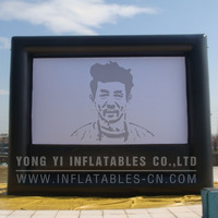 16x9ft outdoor inflatable screen