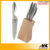 Good Quantity Wooden window Box Packing Knife Set Kitchen