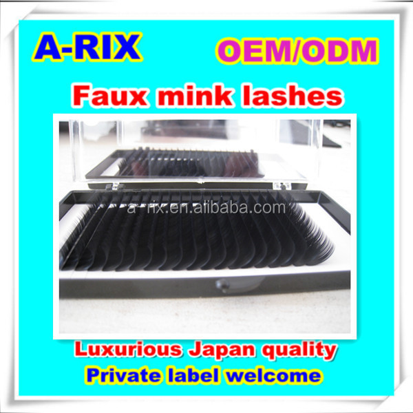 japanese import goods custom eyelash packaging 0.05 0.07 3d mink lashes