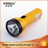 outdoor indoor pratical rechargeable emergency flashlight for wholesale