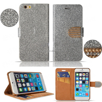 for iPhone 5S Case Leather Flip Card Slot Cover with Mixed Colors