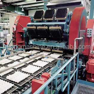price of carton waste paper 2014 hot sale forming production line for egg carton tray making machine