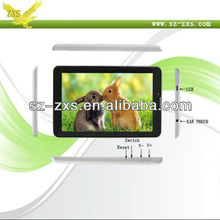 Zhixingsheng 2013 new products 7 inch android tablet pc built in 3g tablet touch screen web camera laptop ZXS MTK6577