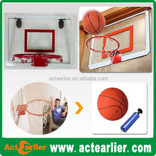 customize mini office plastic basketball hoop for kids