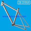 internal cable routing titanium road bike frame OEM manufacturerTSB-CBR1001