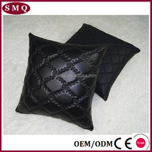 Modern beautiful leather designer cushion covers