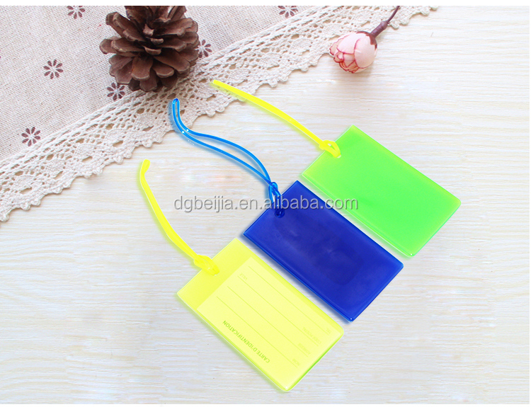 High quality personalized silicone luggage tag rubber strap/airline baggage tags with handle