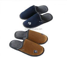 TPR outsole man slipper soft warm indoor slippers for man cheap price winter slipper shoes 2016