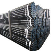 Good quality black annealed steel pipe hollow section lowest price