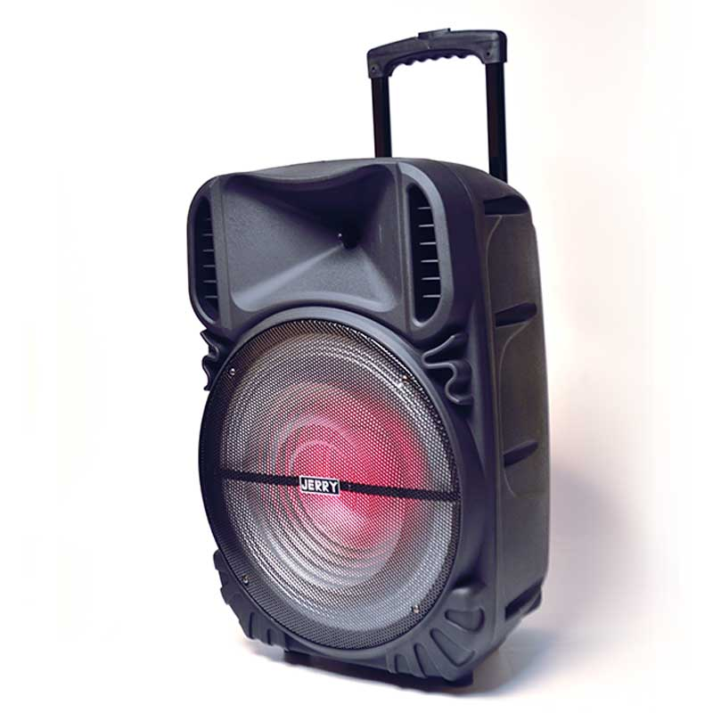 15 inch Best-selling rechargeable multifunction trolley speaker