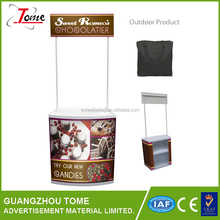Portable PP booth promotion table advertising table stand