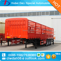 China truck cow/cattle stake semi trailer for sale