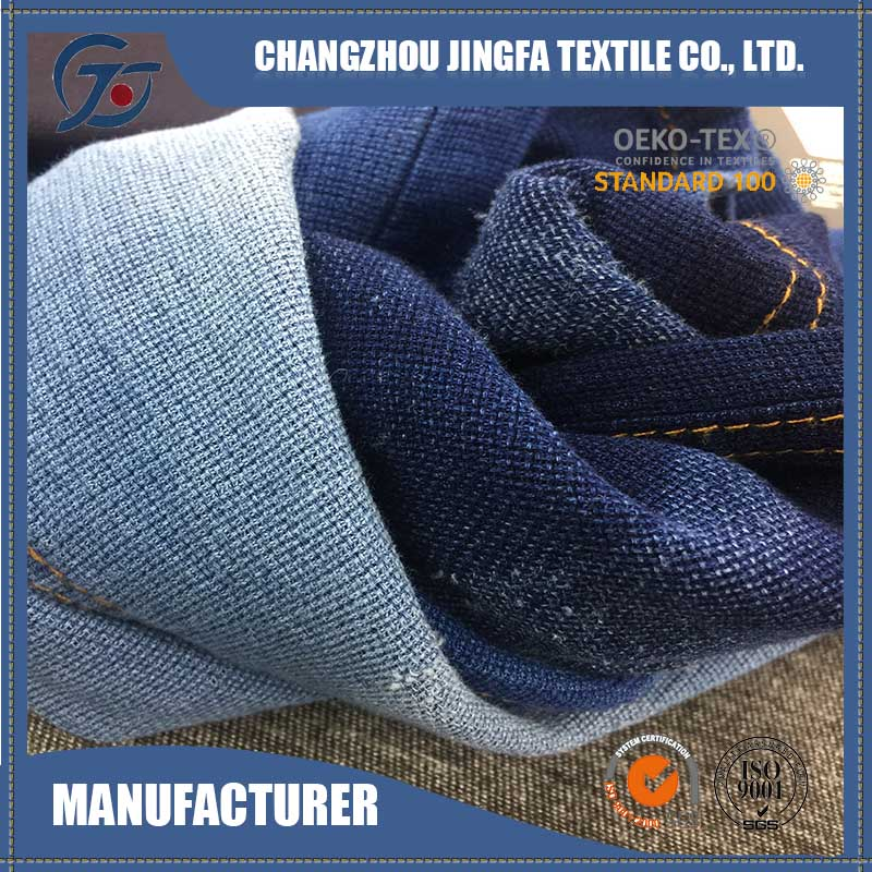 New product commission agents of fabric denim tablecloths china wholesale