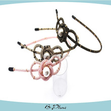 Fashion Hair Accessories Elegant Pearls Headband Promotional Hairband