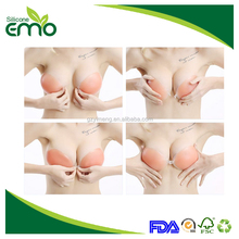 Eco-friendly Enviromental High Quality Silicone Bra Inserts 2 Cup Sizes